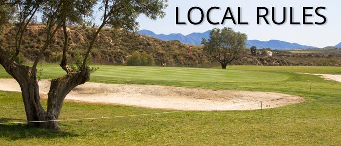 camposol-golf-local-rules